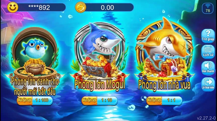 Giao diện mới của game Bắn cá từ nhà cung cấp Dragoon Soft loto188