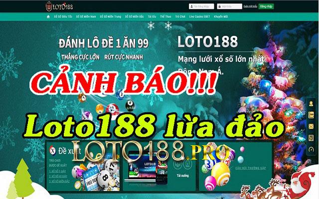 Link vào Loto188 không truy cập được khiến người chơi tưởng nhà cái bị bắt