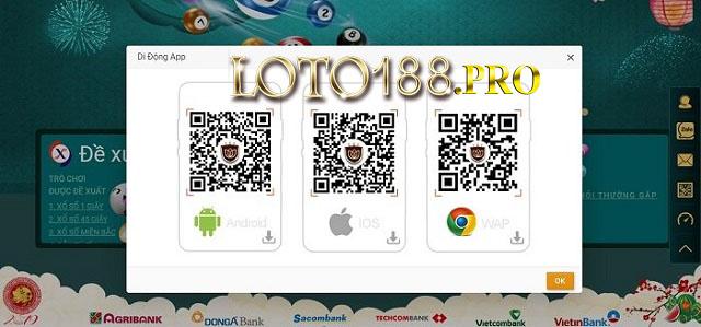 Ứng dụng chính là giải pháp truy cập vào Loto188 bị chặn